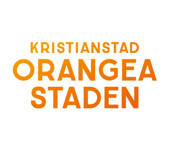 Orangea staden logo with white background